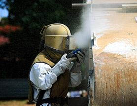 dustless blasting services in Illinois